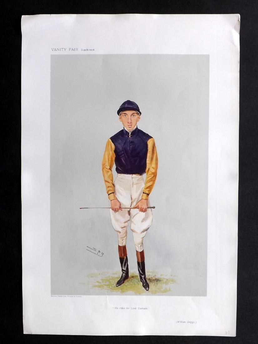Vanity Fair Print 1906 William Griggs, Jockey