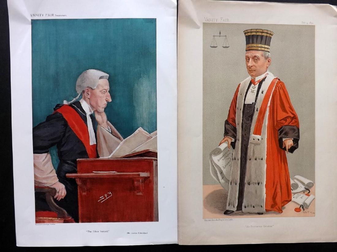 Vanity Fair Prints 1893-1909 Pair of Judes