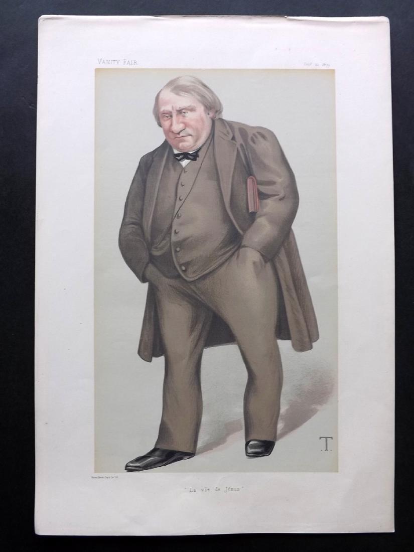 Vanity Fair Prints 1879-1910 Group of 3 Literary - 2