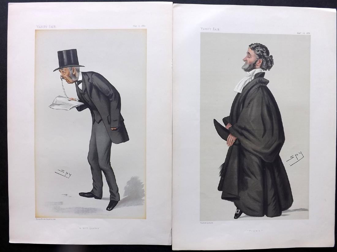 Vanity Fair Print 1879-82 Pair of Clergy Prints