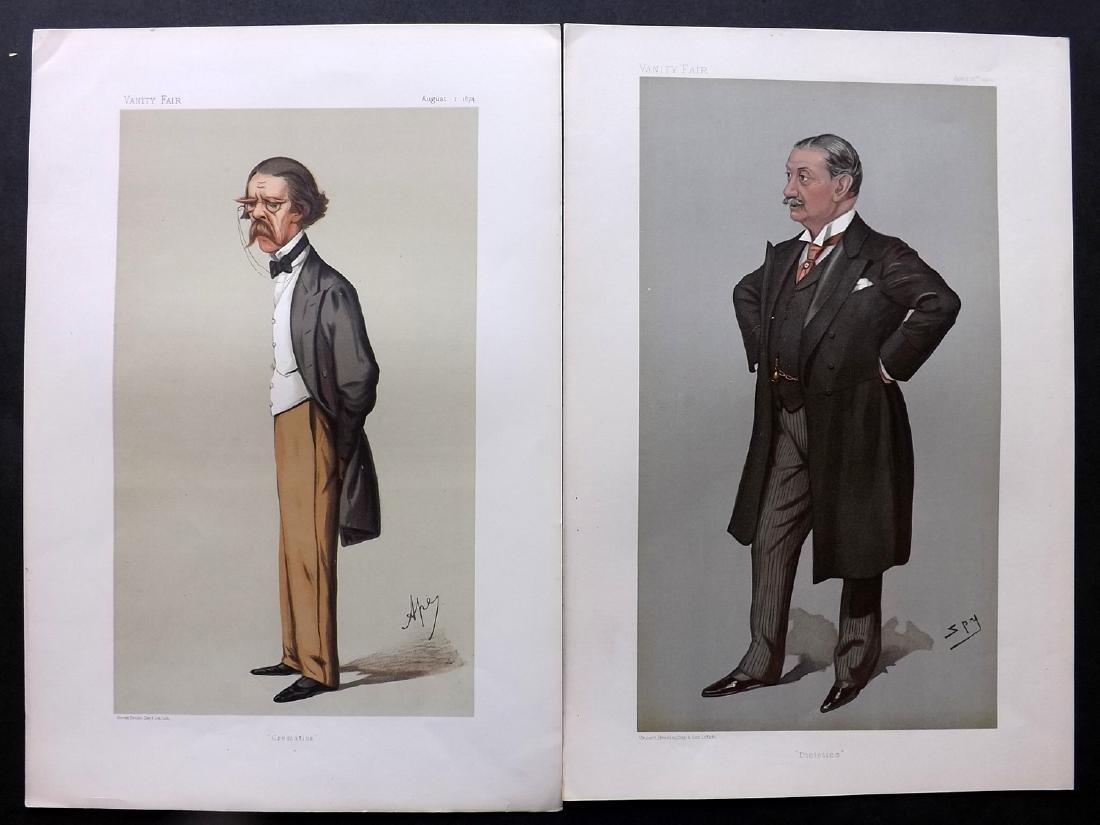Vanity Fair Print 1874-1900 Pair of Scientists