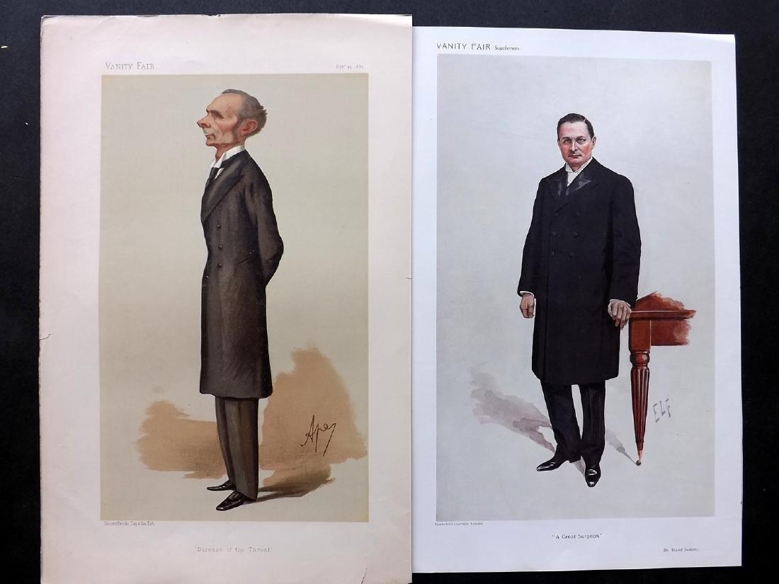Vanity Fair Print 1887-1910 Pair of Surgeons