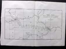 U S Coast Survey 1896 Map Missouri Kansas