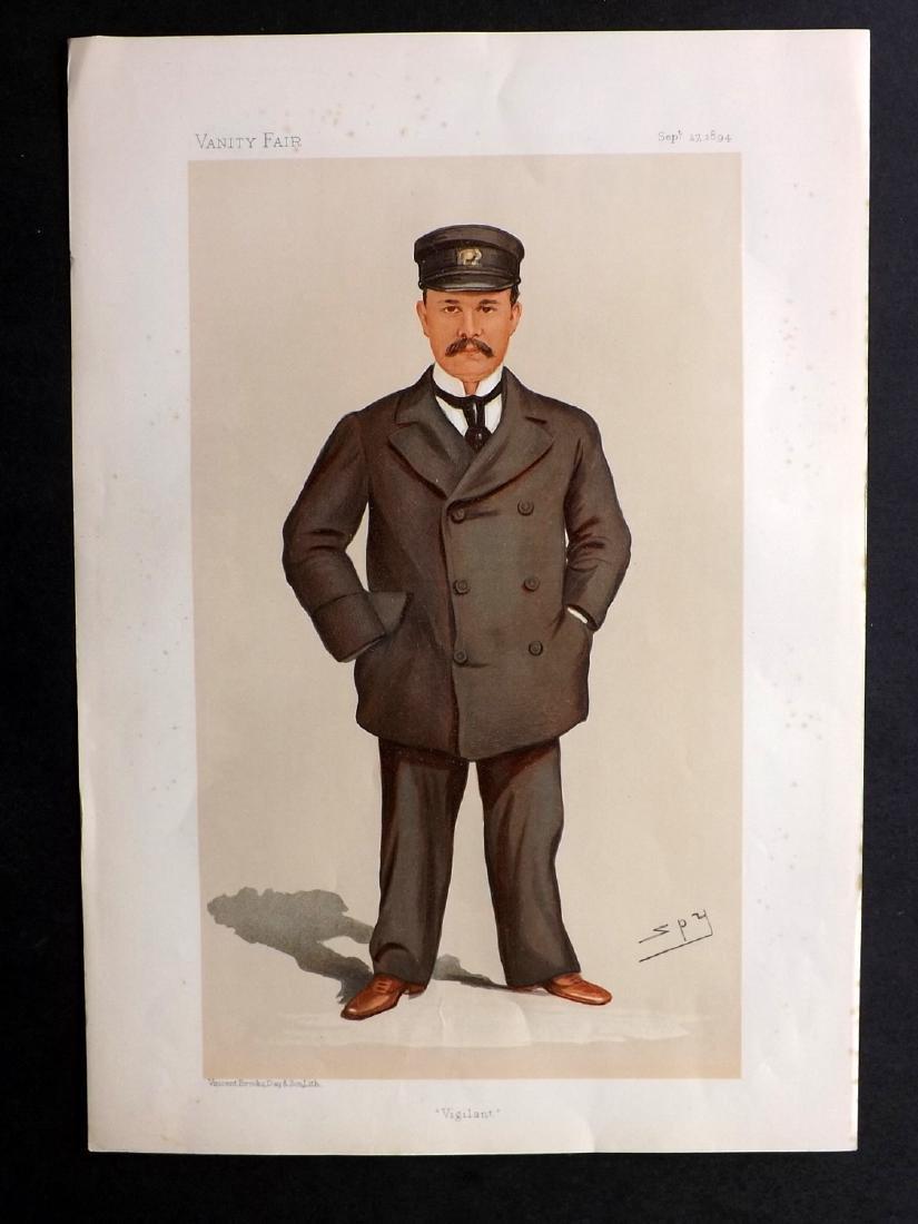 Vanity Fair Print 1894 George Gould, American Yachting