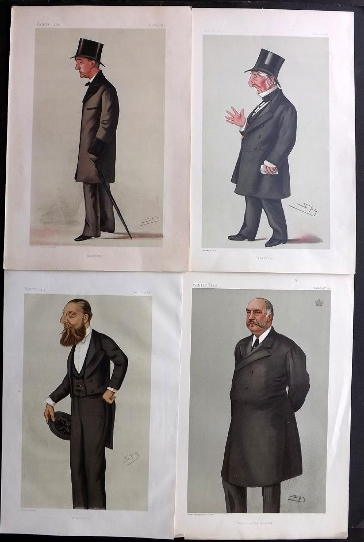 Vanity Fair Prints 1876-1902 Lot of 4 Prints. Scotland