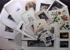 Mixed Prints 18th19th Lot of 40 Engravings