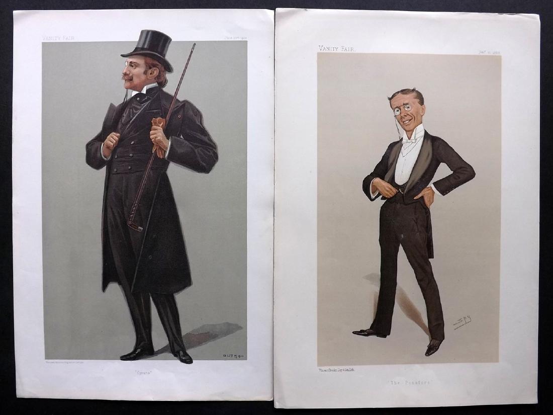 Vanity Fair Prints 1888-1901 Pair of Theatre