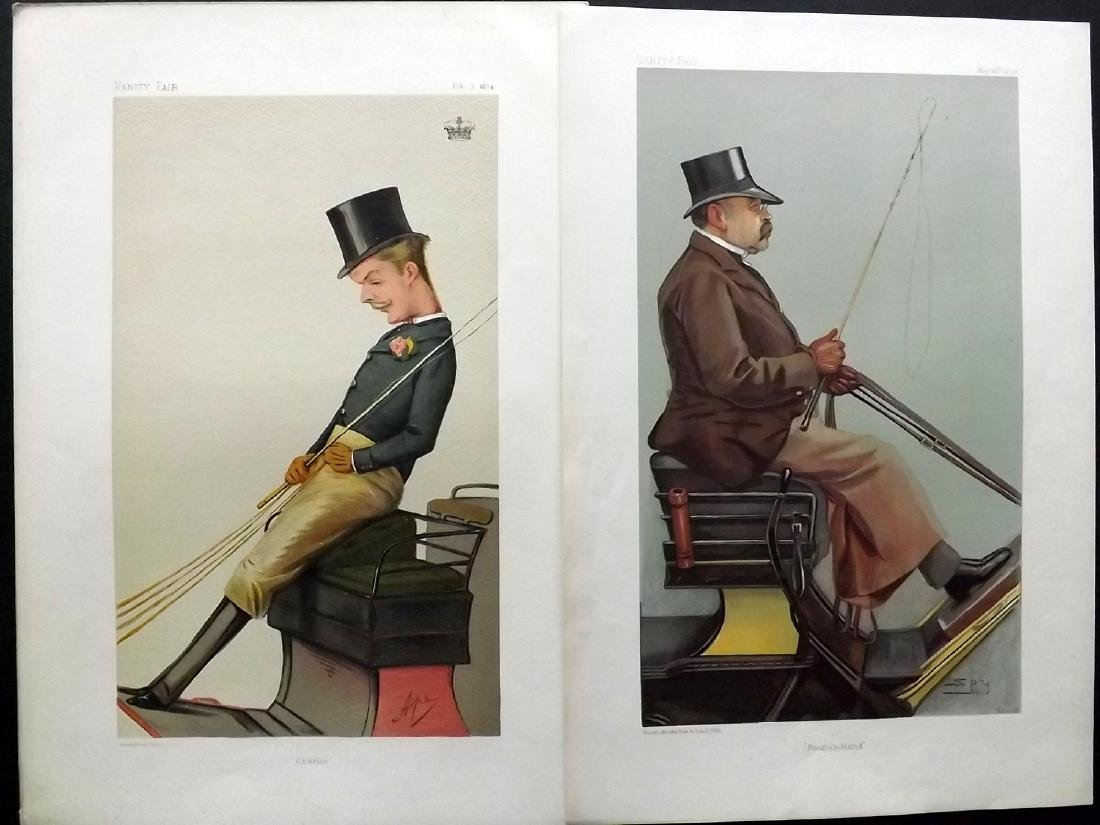 Vanity Fair Prints 1874-1903 Pair of Carriage Drivers