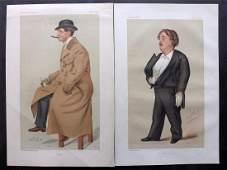 Vanity Fair Prints 1877-05 Pair Artists. Gustave Dore