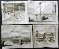 Pluche Noel 1748 Lot of 4 ScienceTech Prints