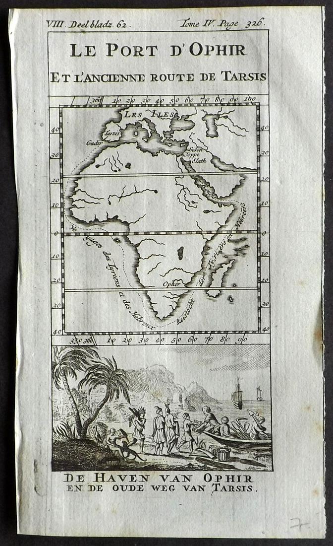 Pluche, Noel 1748 Map of Africa