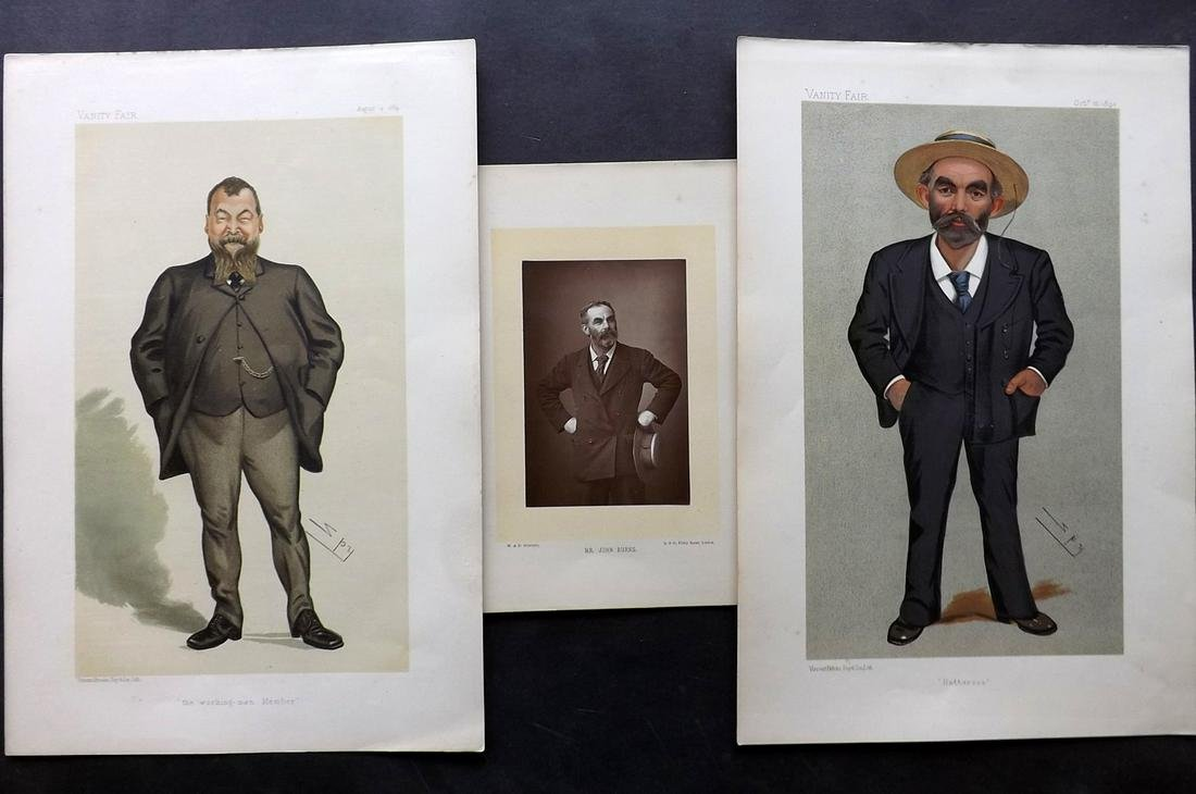 Vanity Fair & Photograph 19th Cent. Trade Union (3)