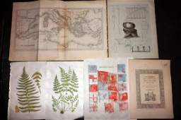 Mixed Prints 19th Cent Lot of 30 Engravings  Lithos