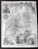 Moule Thomas C1850 British Map Gloucestershire