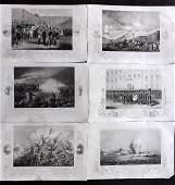 Tyrrell Crimean War 1858 Lot of 6 Military  Naval