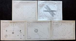Ball Robert 1892 Lot of 5 Astronomy Celestial Prints
