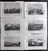 Tyrrell Crimean War 1858 Lot of 6 Military Prints