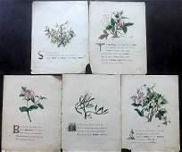 Giraud Jane 1846 Flowers of Shakespeare Prints