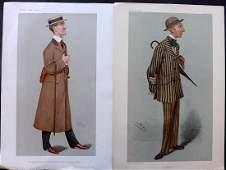 Vanity Fair Prints 190406 Pair of Turf Devotees