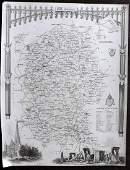 Moule Thomas C1838 British Map Wiltshire Stonehenge