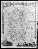 Moule Thomas C1850 British Map Wiltshire Stonehenge