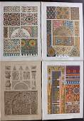 Dolmetsch Heinrich 1895 Lot of 4 Arabian Moorish