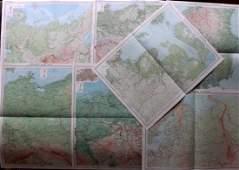 Bartholomew John 1922 Maps Baltic Germany etc