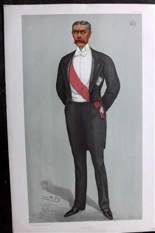 Vanity Fair Print 1899 Lord Kitchener, Milititary