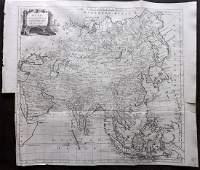 Kitchin, Thomas 1785 Antique Map of Asia