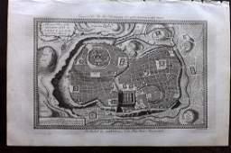 Wright, Paul 1782 Holy Land Map. Jerusalem