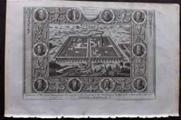 Wright, Paul 1782 Holy Land View. Babylon & Babel