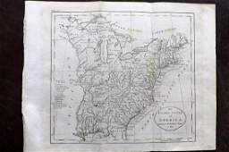 Guthrie, William 1798 Map. United States of America
