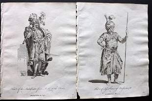 Jefferys, Thomas C1760 Pair of Prints. Persia