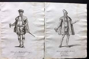 Jefferys, Thomas C1760 Pair of Prints. Poland