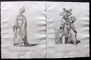 Jefferys, Thomas C1760 Pair of Prints. Turkey