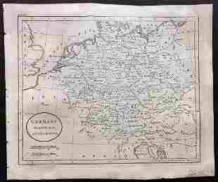 Guthrie, William 1806 Map. Germany