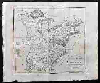 Guthrie, William 1806 Map. United States