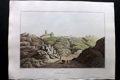 Bradford, William 1809 Folio HC Print. Toro, Spain