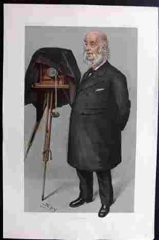 Vanity Fair Print 1902 John Benjamin Stone, Photography