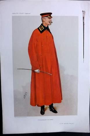 Vanity Fair Print 1906 Lt-Col. Ansthruther-Thomson