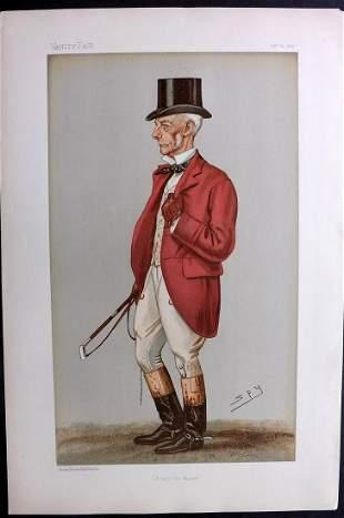 Vanity Fair Print 1896 Thomas Garth, Foxhunter