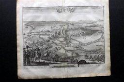 Le Clerc, Jean 1730 LG Print. Battle at Alkmaar,