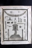 Wilkes, John C1815 Print. Freemason Masonry Masonic
