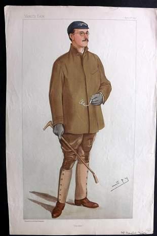 Vanity Fair Print 1897 Douglas Hamilton McLean, Rowing