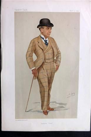 Vanity Fair Print 1891 Hwfa Williams, Turf