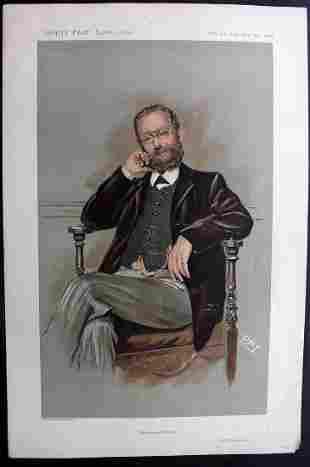 Vanity Fair Print 1911 Dr Thomas R. Allinson