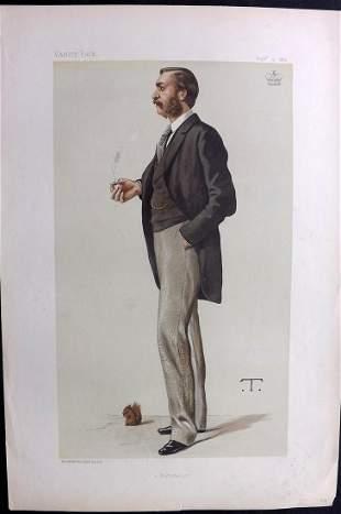 Vanity Fair Print 1882 Lord Walsingham