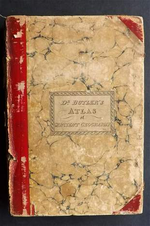 Atlas - Butler, Samuel C1835 Ancient Geography, 22 Maps