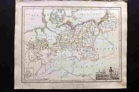 Thomson, John (Pub) 1825 Map. Prussia, Germany