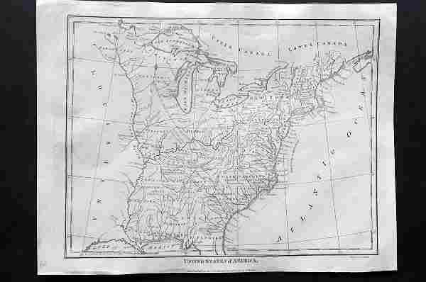Wilkes, John 1797 Map. United States